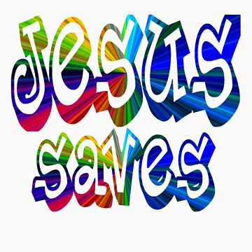 Jesus Saves by chinet