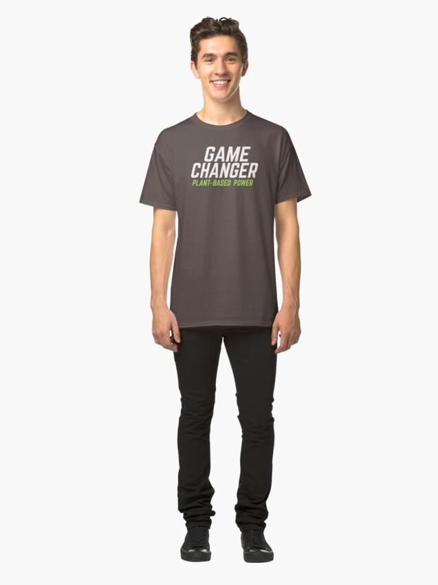 Alternate view of Game Changer: Plant-Based Power Classic T-Shirt