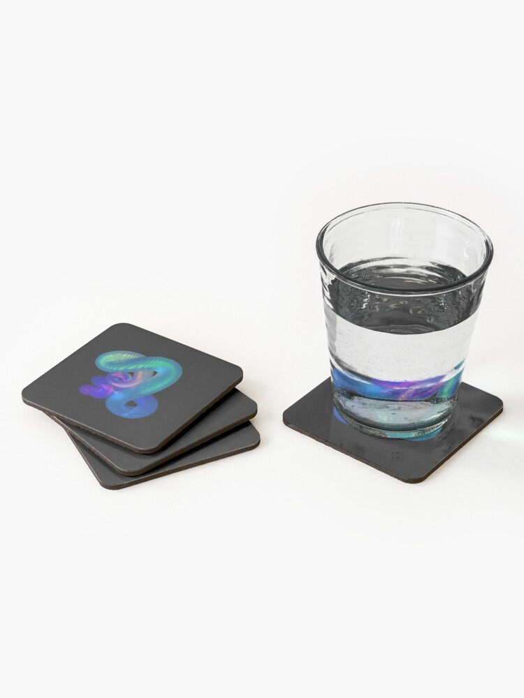 Alternate view of YES Coasters (Set of 4)