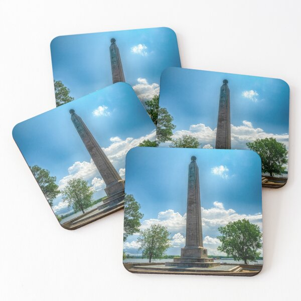 Perry Monument - Presque Isle State Park, Erie Coasters (Set of 4)