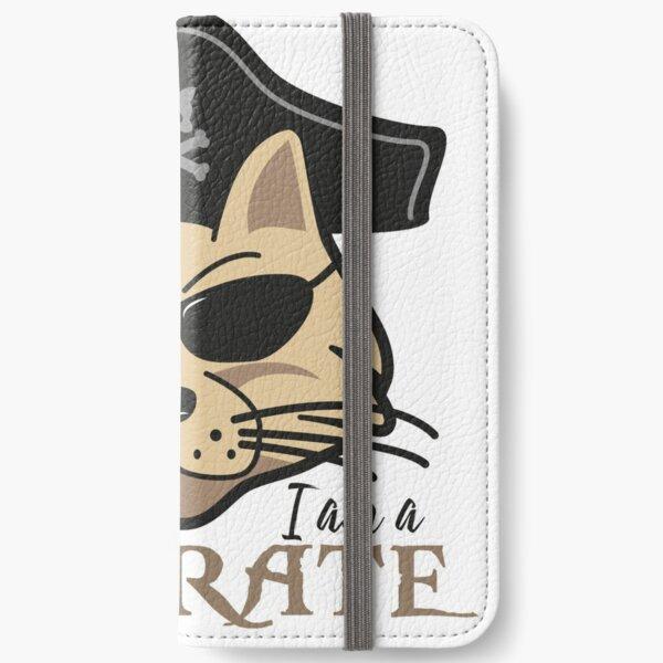 I am a Purrate! Pirate Cat iPhone Wallet