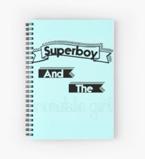 Superboy and the Invisible Girl Spiral Notebook