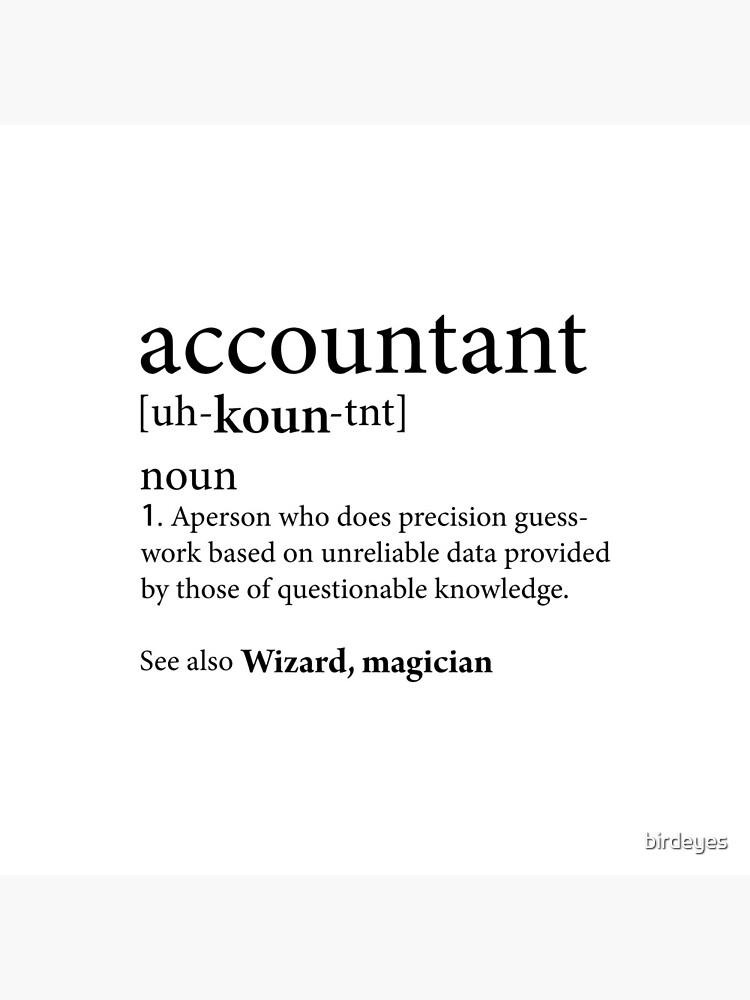 Accountant Definition by birdeyes