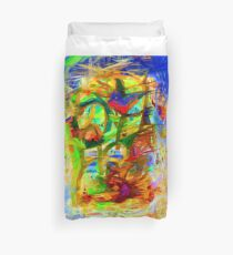 Abstract 9027 Duvet Cover
