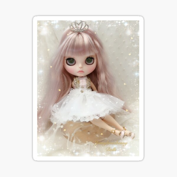 Custom Blythe Doll - Katarina by Jenny Lee of Jennylovesbenny Sticker