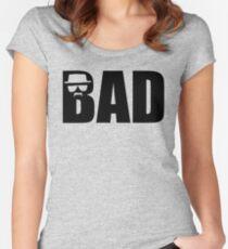 Bad - Breaking Bad Heisenberg Women's Fitted Scoop T-Shirt