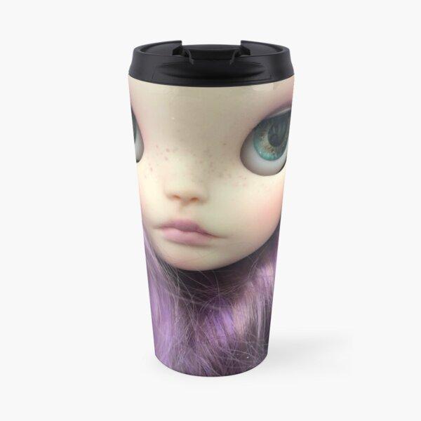 Custom Blythe Doll - Viola by Jenny Lee of Jennylovesbenny Travel Mug