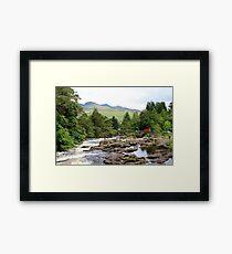 Falls of Dochart Framed Print