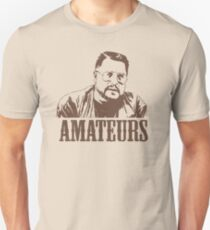 The Big Lebowski Walter Sobchak Amateurs T-Shirt T-Shirt