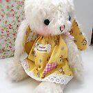 Tipady Bunny Rabbit by Jenny Lee of Jennylovebenny Bears by jennylovesbenny