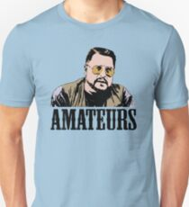 The Big Lebowski Walter Sobchak Amateurs Color T-Shirt Unisex T-Shirt