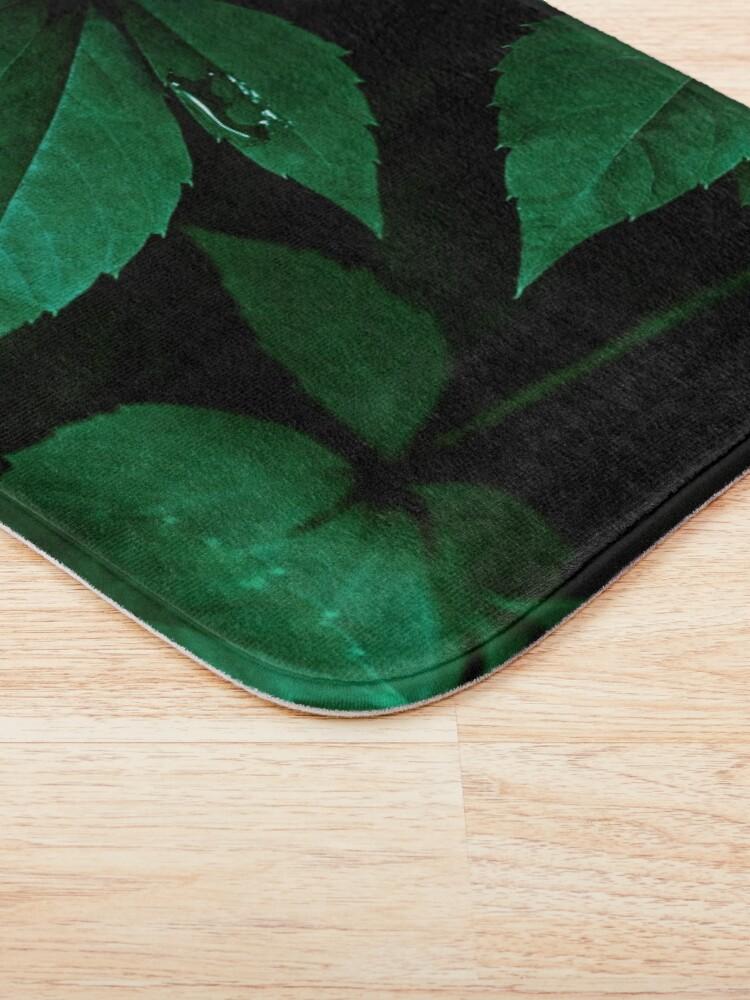 Alternate view of Dark Leaves 7 Bath Mat