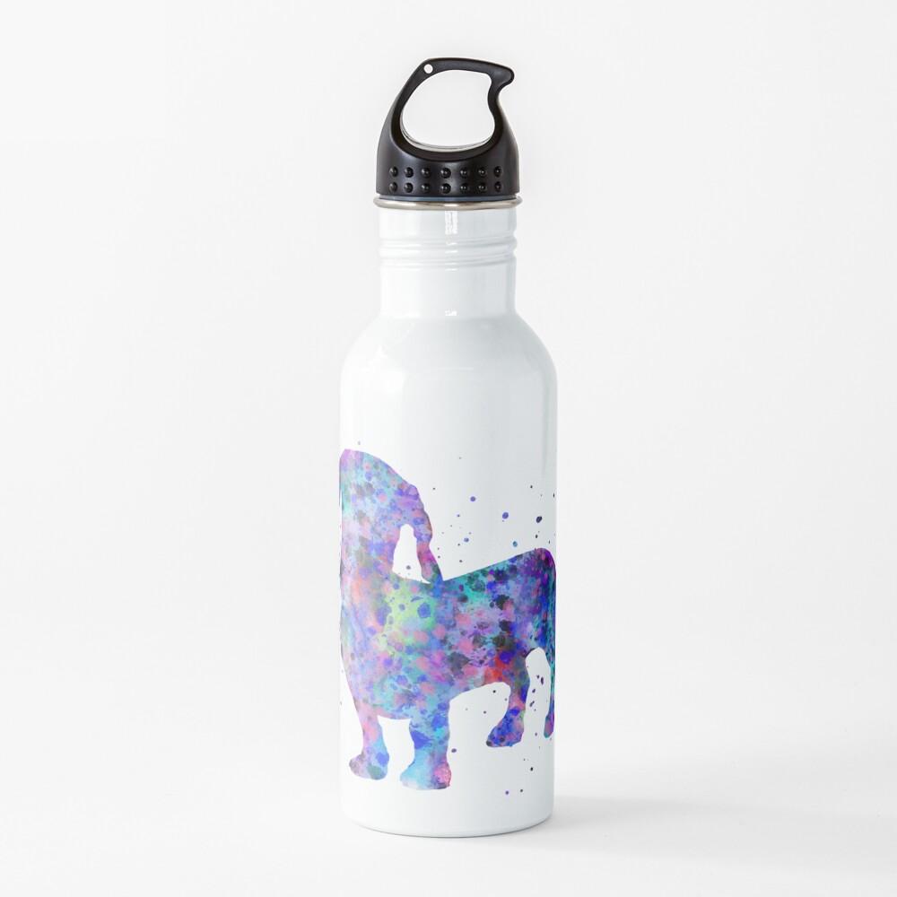 Dachshund, Dachshund dog, watercolor Dachshund Water Bottle