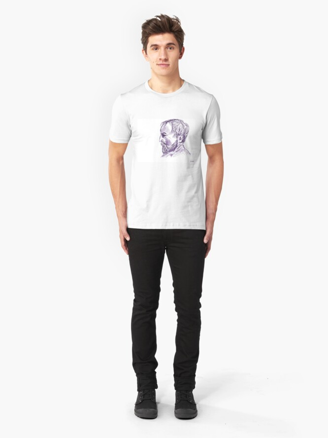 Alternate view of Thoughtful Chap Slim Fit T-Shirt