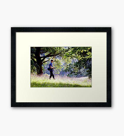 The Deer Stalker Framed Print