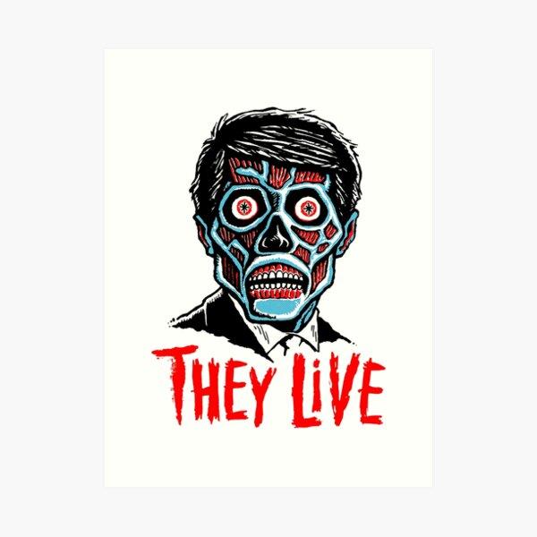 80s Cult Live Movie Art Print