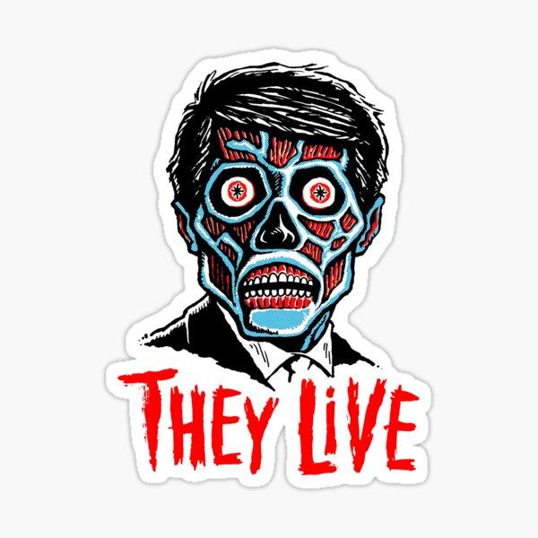 80s Cult Live Movie Sticker