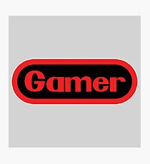 Gamer  Photographic Print