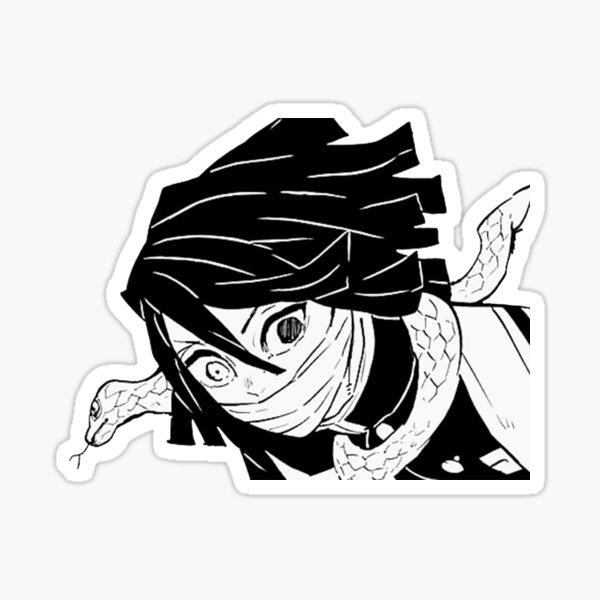 Kimetsu No Yaiba (Demon Slayer) - Obanai Iguro Sticker