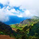 Kalalau Valley Vista by Benjamin Padgett