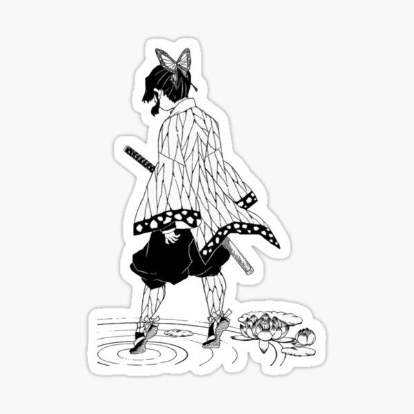 Kimetsu Yaiba No (Demon Slayer) - Shinobu Kocho Sticker