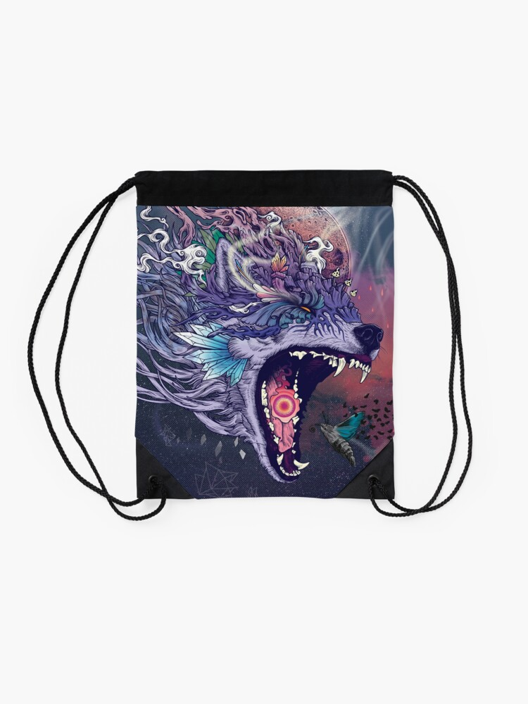Alternate view of Kalopsia Drawstring Bag