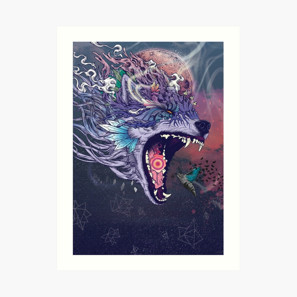 Kalopsia Art Print