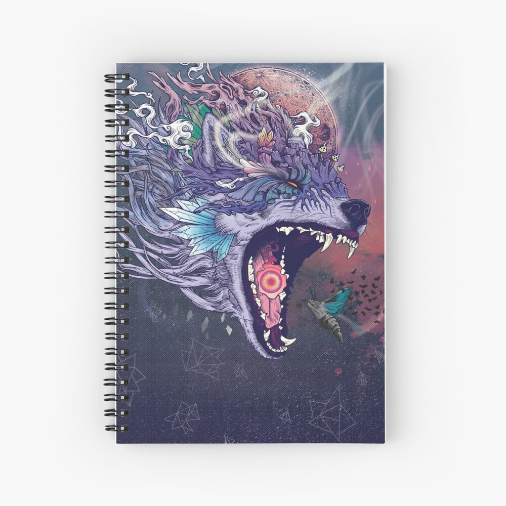 Kalopsia Spiral Notebook