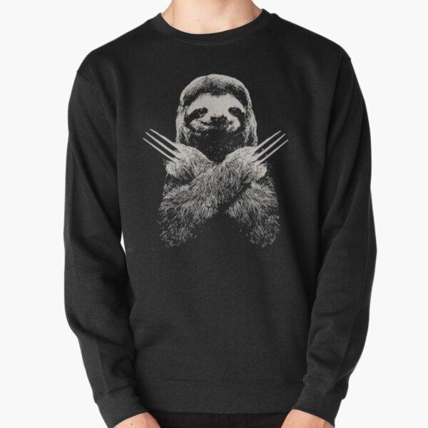 Wolverine Sloth Funny Costume Bestes Geschenk für faule Faultierliebhaber Pullover