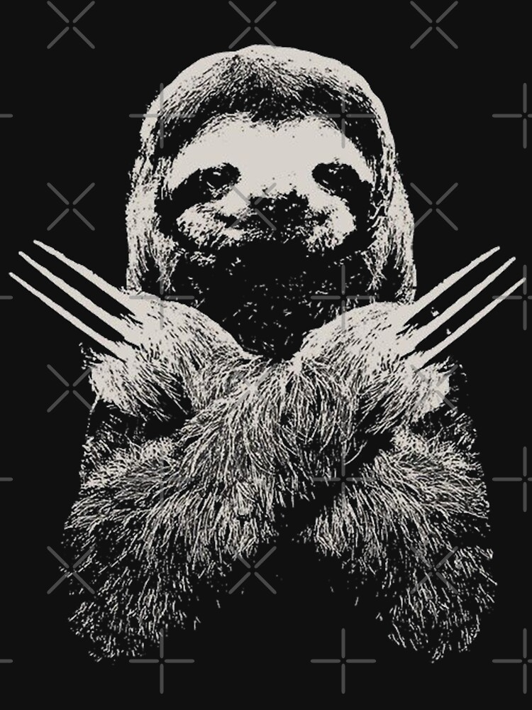 Wolverine Sloth Funny Costume Best gift for lazy sloths lovers by kimoufaster