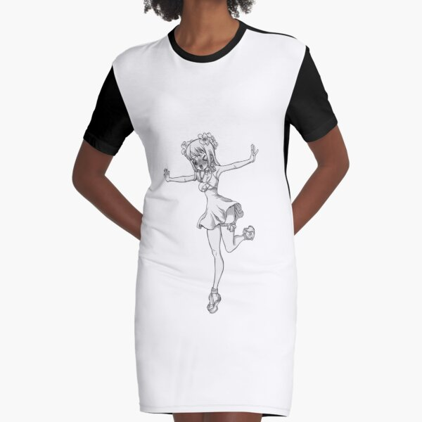 Dr Stone Kohaku Graphic T Shirt Dress By Quentinr Redbubble