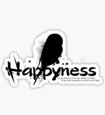 Happyness Owl Sticker