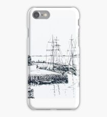 Old Wharf Stanley  Tasmania iPhone Case/Skin