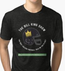 Bill King Show Helmet Logo Tri-blend T-Shirt