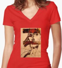 The Veil Women's Fitted V-Neck T-Shirt