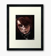 Self Protest Framed Print