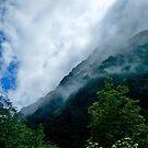 Cloudscape, Milford Sound, New Zealand. by johnrf