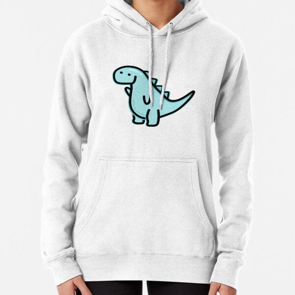 Cute Dino Pullover Hoodie