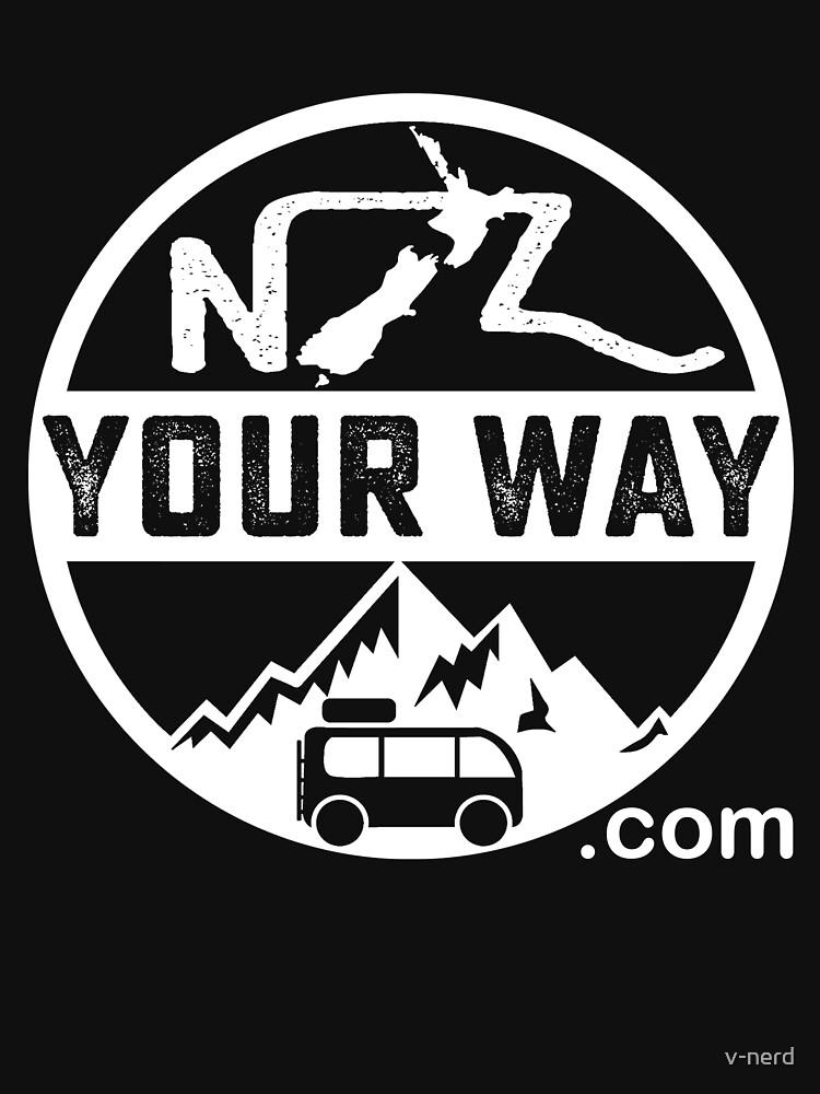 «Logo du site de voyage NZYourWay.com» par v-nerd