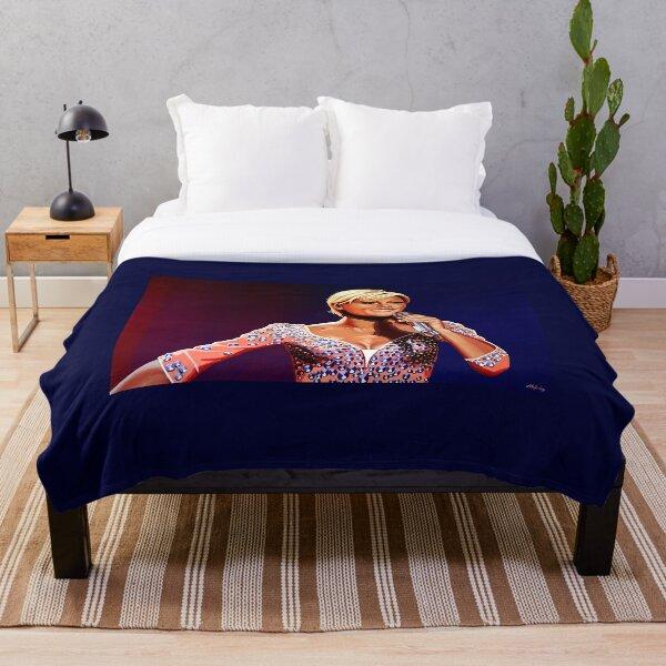 Helene Fischer Painting Throw Blanket