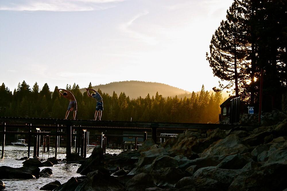 Lake Tahoe - Half Moon by Sam Maule