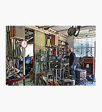 A Man's Shed Is His Home! Photographic Print