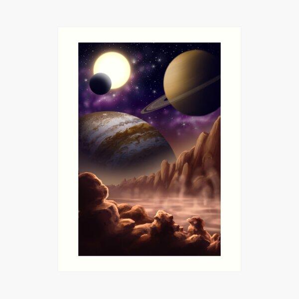 The Planets Art Print