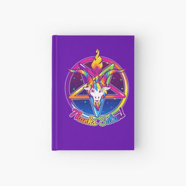 1997 Neon Rainbow Dank an Satan Baphomet Pentagram Sigil Notizbuch