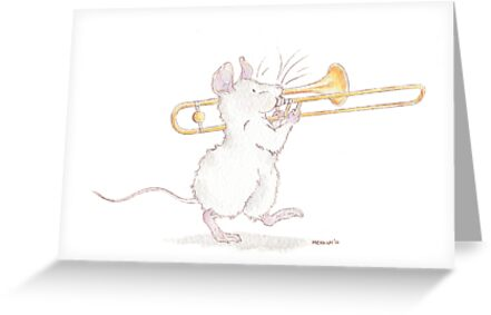 A Mouse and His Trombone by mevagh