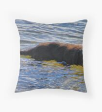 'Walter the Water Dog' Throw Pillow