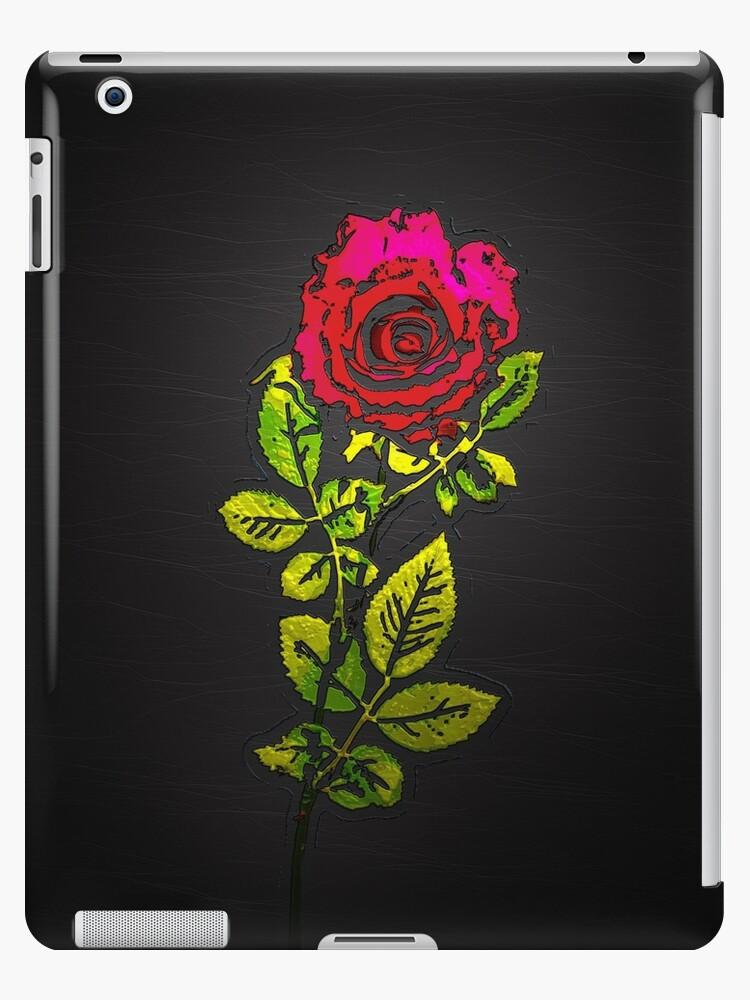 Embossed Rose by Ra12