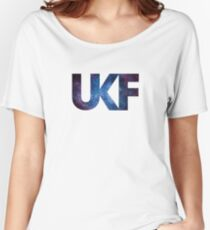 UKF - Galaxy Women's Relaxed Fit T-Shirt