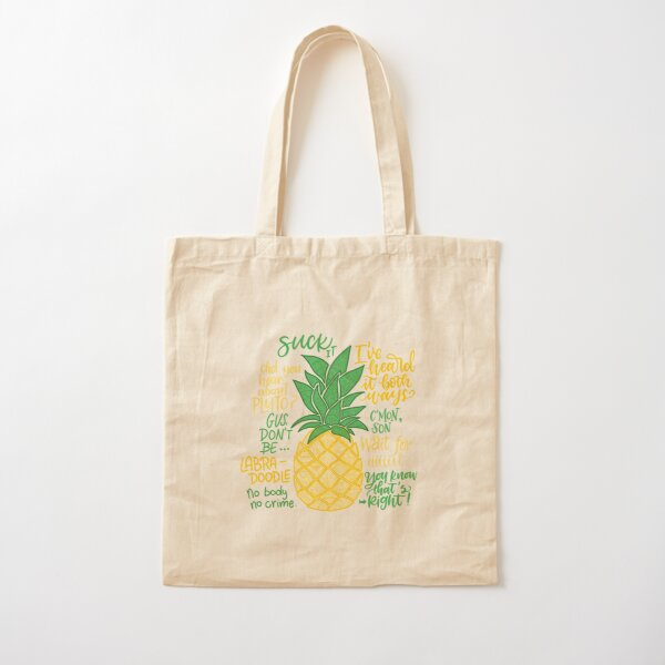 Psych - Quotes Cotton Tote Bag
