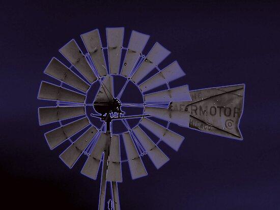Neon Windmill by DreamBigInk1